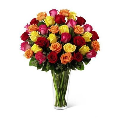 Picture of Mixed Color Roses
